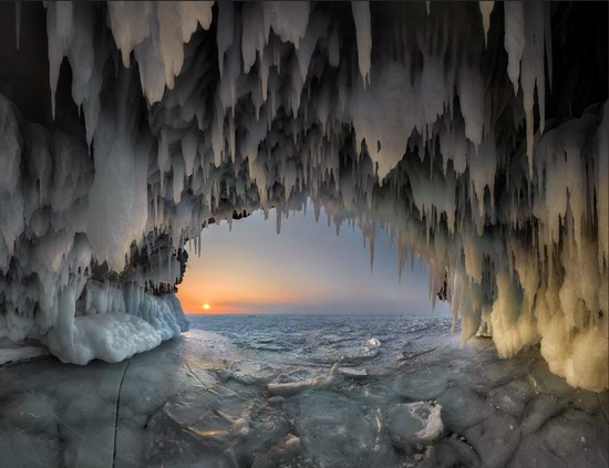 Winter Baikal Lake, Russia, photo 2