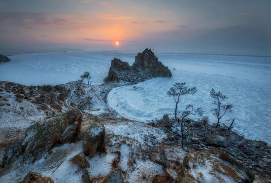 Winter Baikal Lake, Russia, photo 3