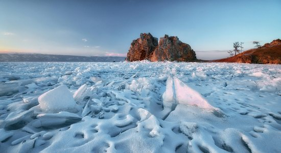 Winter Baikal Lake, Russia, photo 4