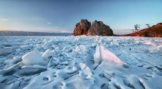 Winter Baikal Lake, Russia, photo 4
