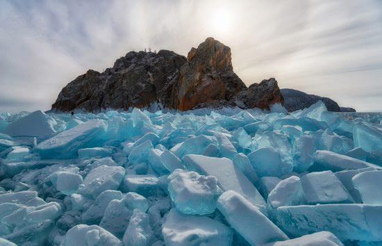 Winter Baikal Lake, Russia, photo 7