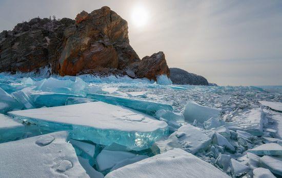 Winter Baikal Lake, Russia, photo 8