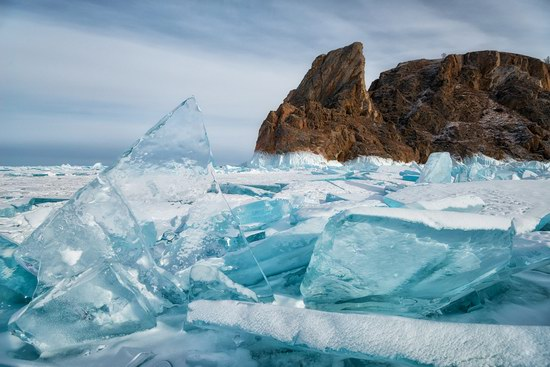 Winter Baikal Lake, Russia, photo 9