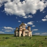Abandoned church in the middle of nowhere
