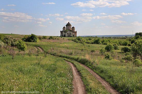 Abandoned church, Pyatino village, Russia, photo 18