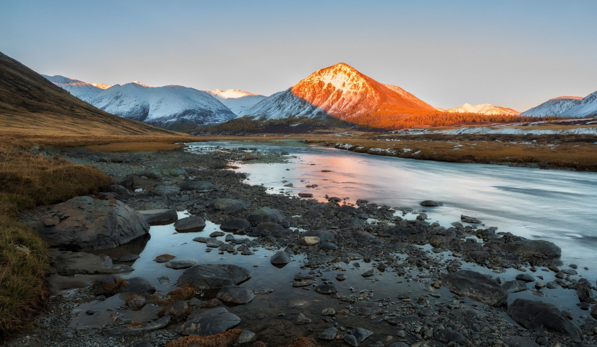 Amazing Natural Beauty Of The Altai Mountains Russia