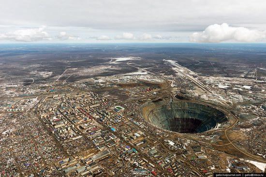 Mirny town - the diamond capital of Russia, photo 1