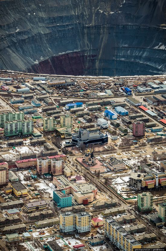 Mirny - the diamond capital of Russia