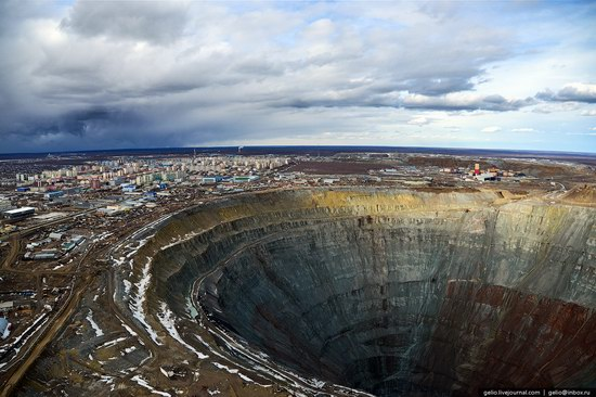 Mirny town - the diamond capital of Russia, photo 6