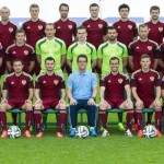 The Russian team at the World Cup 2014