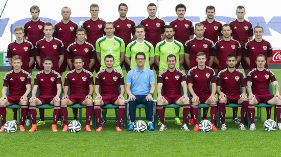 The Russia National Team, the World Cup 2014
