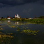 Suzdal – a thunderstorm is coming