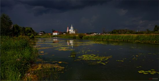 Suzdal - a thunderstorm is coming, Russia