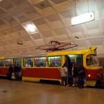 Volgograd speed underground tram