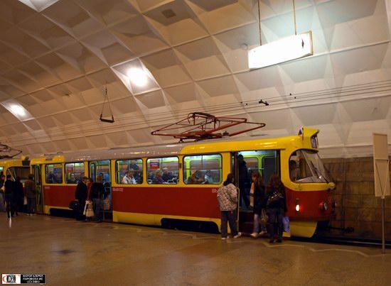Volgograd speed underground tram, Russia