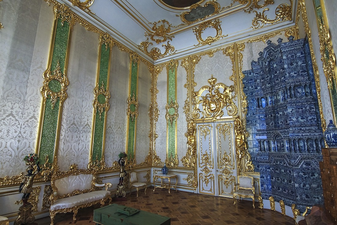 The Catherine Palace – a masterpiece of Baroque · Russia