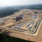"Construction of the new Russian cosmodrome ""Vostochny"""