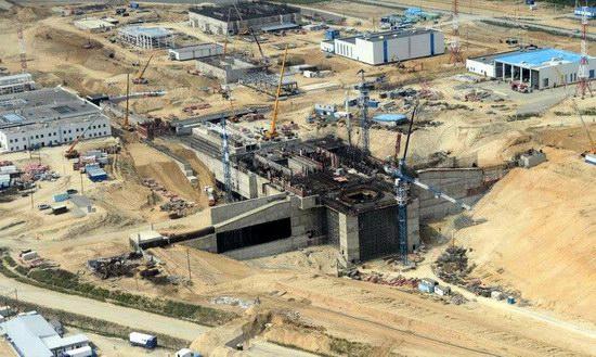 Cosmodrome Vostochny construction site, Russia, photo 2