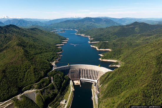 Sayano-Shushenskaya hydropower station, Russia, photo 1
