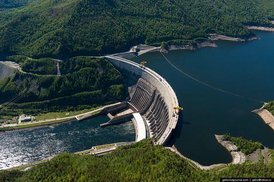 Sayano-Shushenskaya hydropower station, Russia, photo 2