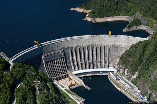 Sayano-Shushenskaya hydropower station, Russia, photo 3