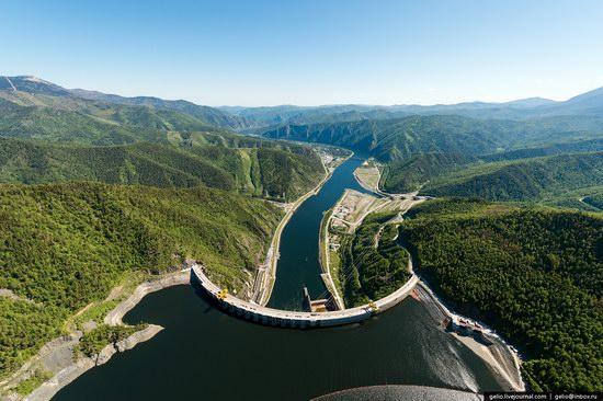Sayano-Shushenskaya hydropower station, Russia, photo 5