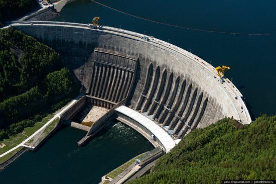 Sayano-Shushenskaya hydropower station, Russia, photo 6