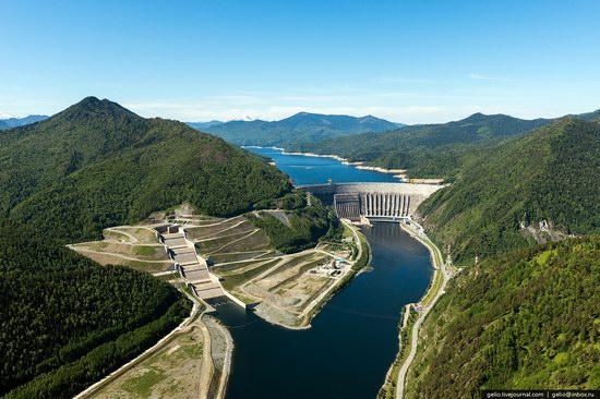 Sayano-Shushenskaya hydropower station, Russia, photo 7