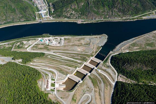 Sayano-Shushenskaya hydropower station, Russia, photo 8