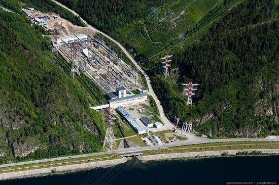 Sayano-Shushenskaya hydropower station, Russia, photo 9