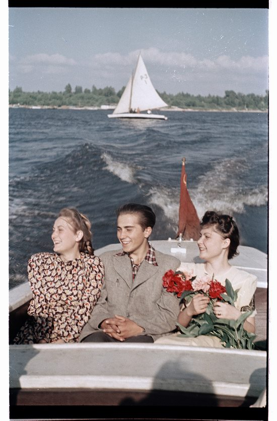 Soviet people in the 1950s, photo 19
