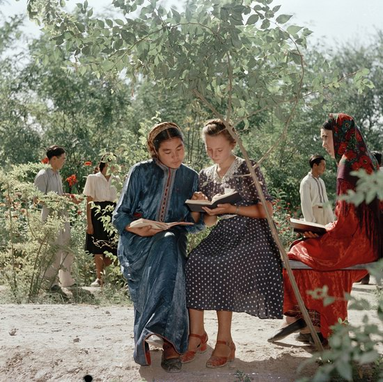 Soviet people in the 1950s, photo 23