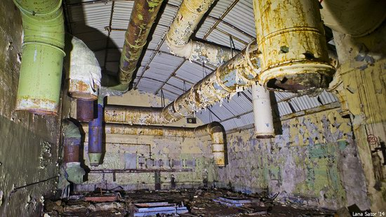 Abandoned storage of nuclear warheads, Russia, photo 17
