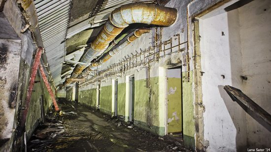 Abandoned storage of nuclear warheads, Russia, photo 9