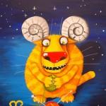The zodiac signs of the Russian artist Vasya Lozhkin