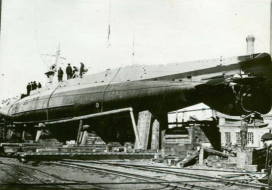 Submarine fleet of the Russian Empire, photo 1
