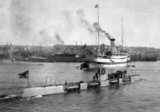Submarine fleet of the Russian Empire, photo 11