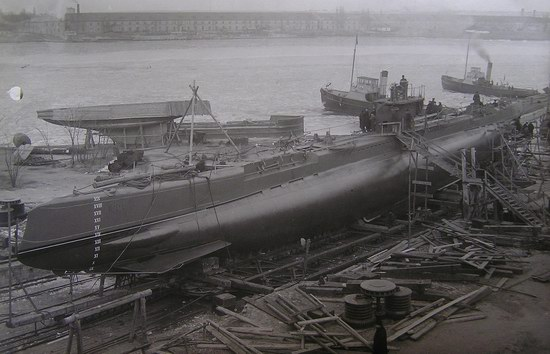 Submarine fleet of the Russian Empire, photo 16