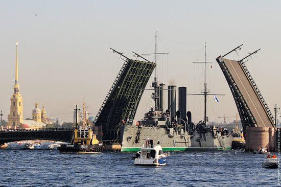 Aurora cruiser, Saint Petersburg, Russia, photo 1
