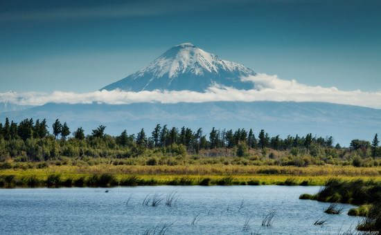 The variety of landscapes of Kamchatka, Russia, photo 5