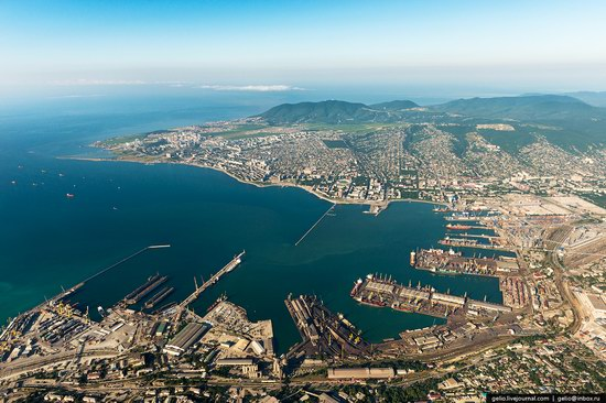 Novorossiysk sea port, Russia, photo 1