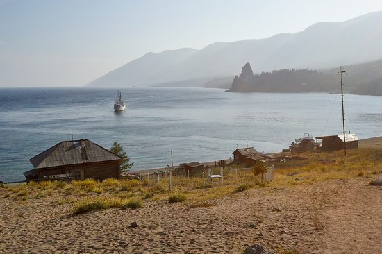 Peschanaya Bay - a beautiful place on Baikal Lake, Russia, photo 1