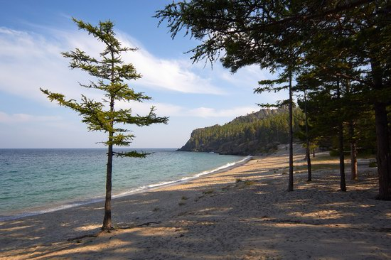 Peschanaya Bay - a beautiful place on Baikal Lake, Russia, photo 12