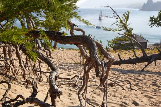 Peschanaya Bay - a beautiful place on Baikal Lake, Russia, photo 13