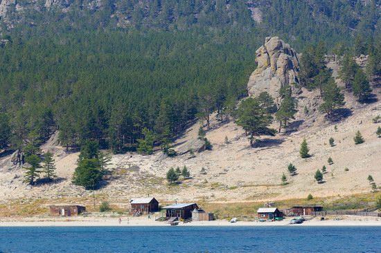 Peschanaya Bay - a beautiful place on Baikal Lake, Russia, photo 5