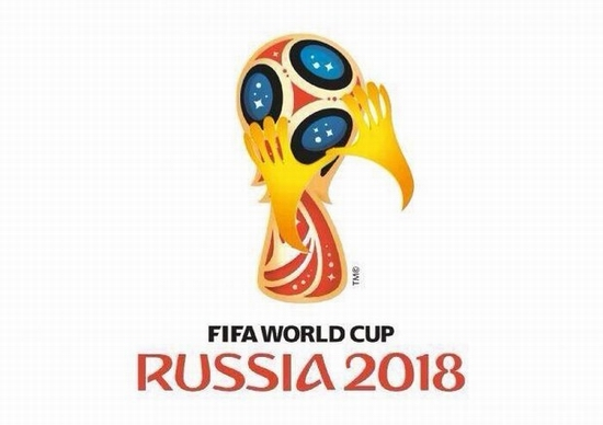 FIFA World Cup Russia 2018 official emblem (logo) mocking 7