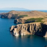 Let's fly a helicopter over Lake Baikal