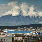 Scenic views of Petropavlovsk-Kamchatsky