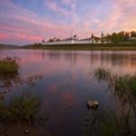 Early morning at the Staritskiy Holy Dormition Monastery