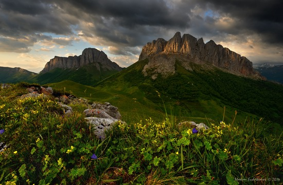The beauty of the mountainous Adygea, Russia, photo 1